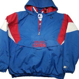 Chicago Cubs Starter Pullover Jacket XL